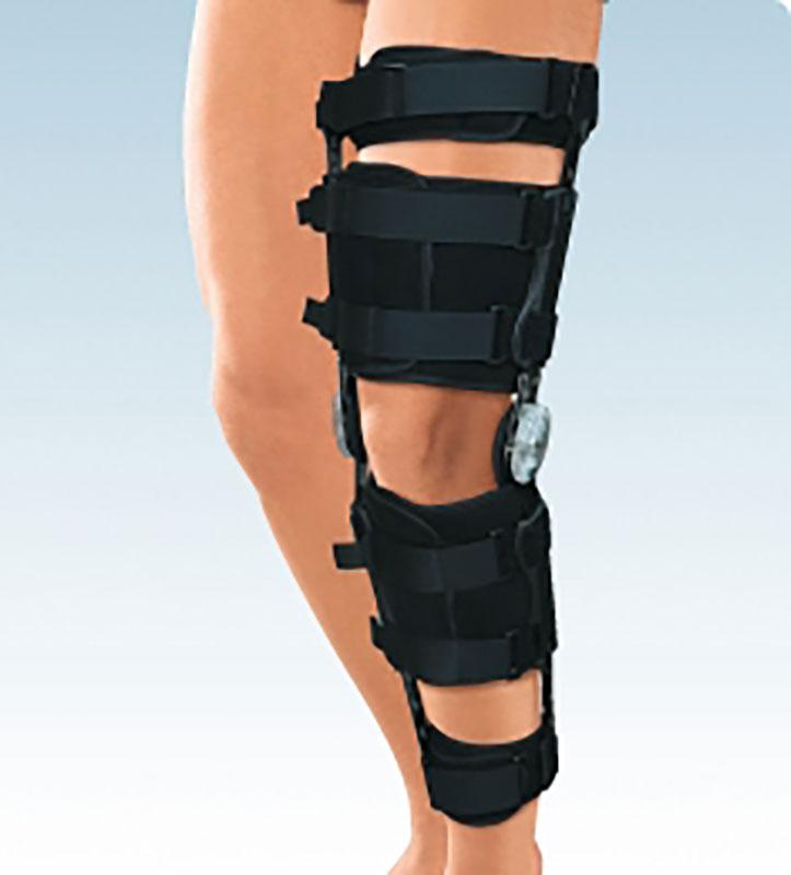 прибор для фиксации коленного сустава